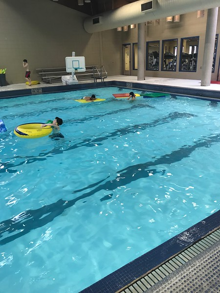 ES Swimming 1/12/18