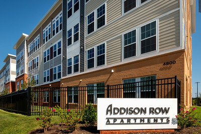 GS Addison Row models and amenity 2021