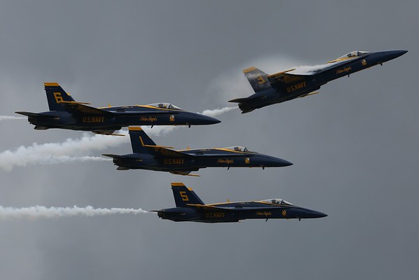 Blue Angels Practice, 15Apr15