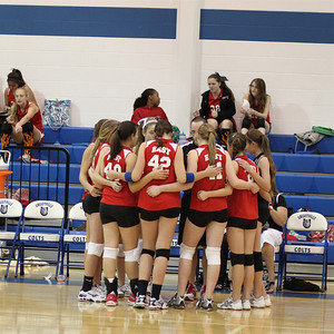 2011 8th Volleyball vs. Colleyville