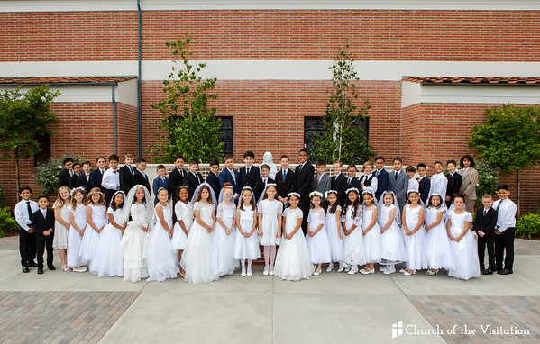 2019 First Holy Communion - Church of the Visitation
