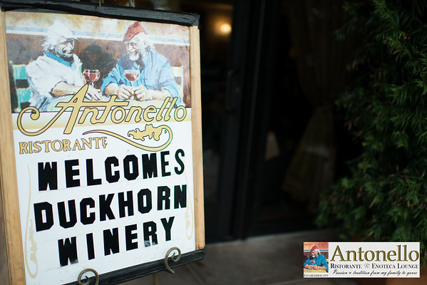 Antonello Ristorante Wine Dinner Hosted by DuckHorn