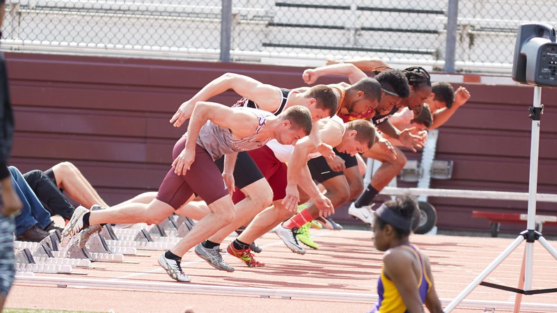 Buildings; Roger Harring Stadium; Location; Outside; People; Athlete Athletics; Spring; May; Time/Weather; day; Type of Photography; Candid; UWL UW-L UW-La Crosse University of Wisconsin-La Crosse