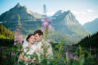 Colter & Emily's Glacier Park Wedding
