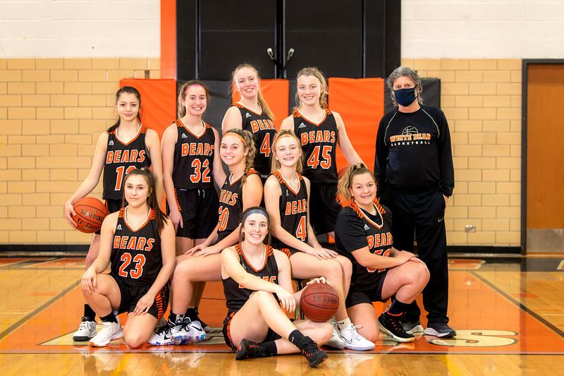 WBL Girls 9/10 Basketball Portraits 2021
