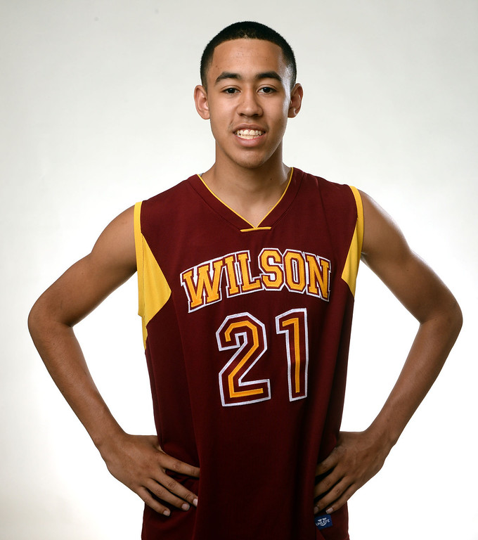 . Wilson\'s Kevin Price, All-Area basketball Players at the San Gabriel Valley Tribune in West Covina, Calif., on Tuesday, April 8, 2014.  (Keith Birmingham Pasadena Star-News)