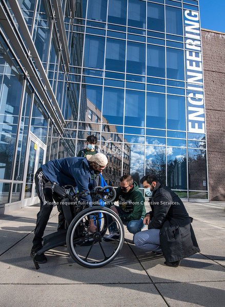 Mechanical Engineering motorized wheelchair