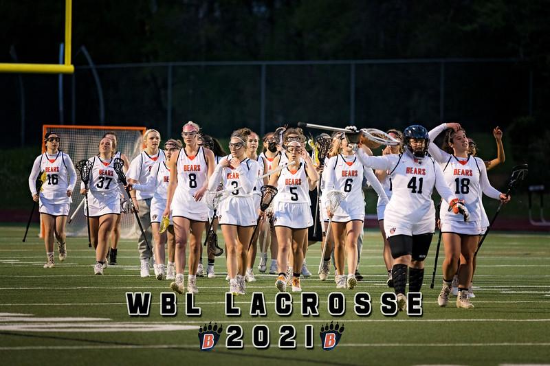 WBL Girls Lacrosse -V- Roseville 2021