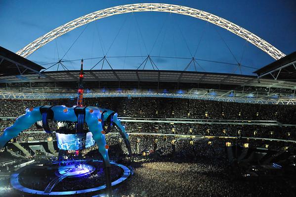 U2 @ Wembley Stadium