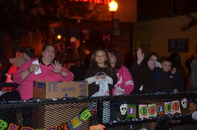 Sunbury Halloween Parade 2105