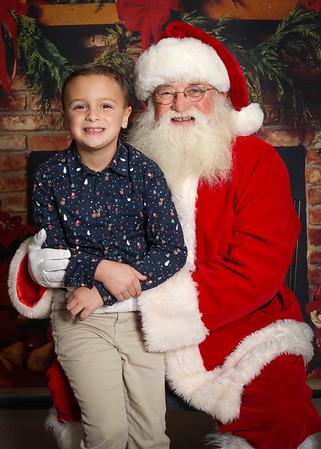 School Santa 2019