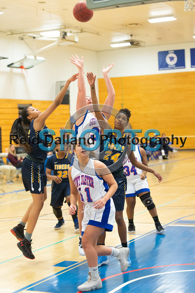 Senators Women's Basketball vs Queensborough - CC - 12/1/2018