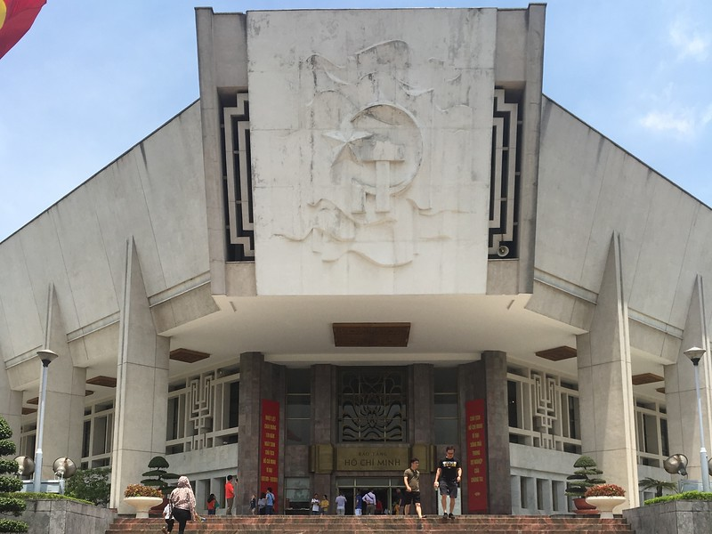 Ho Chi Minh Museum- things to do in Hanoi