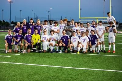 Soccer Alumni vs Varsity, June 20