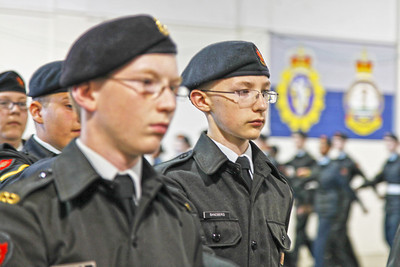 ARMY  CADET ANNUAL  REVIEW  2012