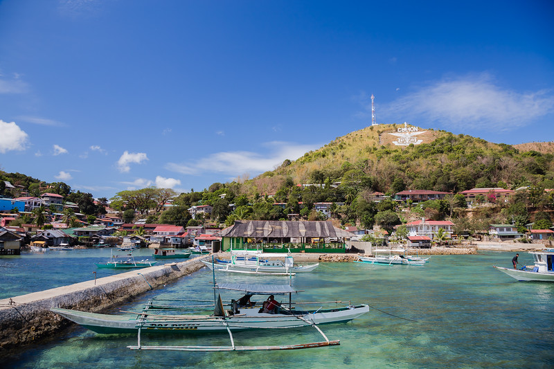 Main dock on Culion Island in the Philippines
