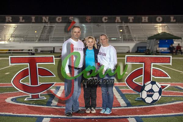 2018 TCH Soccer Senior Night