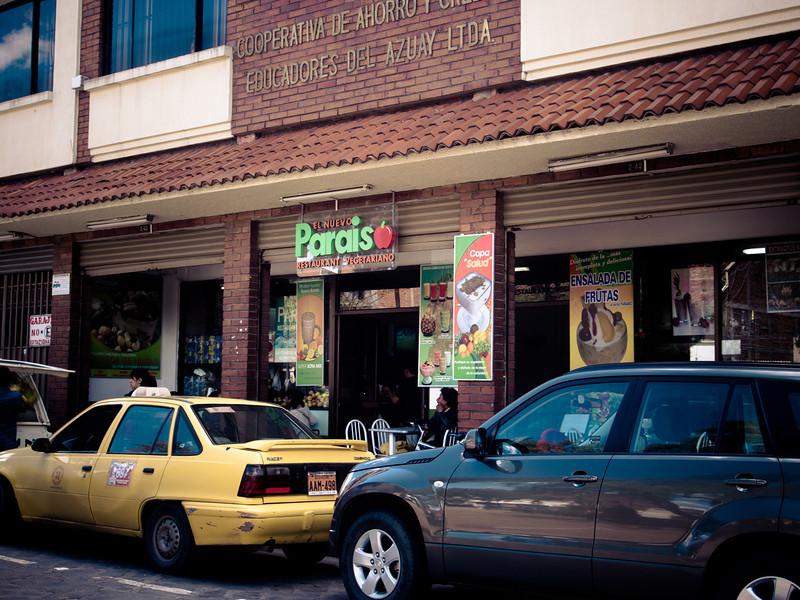 cuenca city rl pariso veg restaurant.jpg