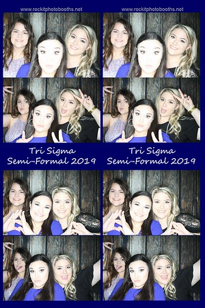 Tri Sigma Semi Formal 2019