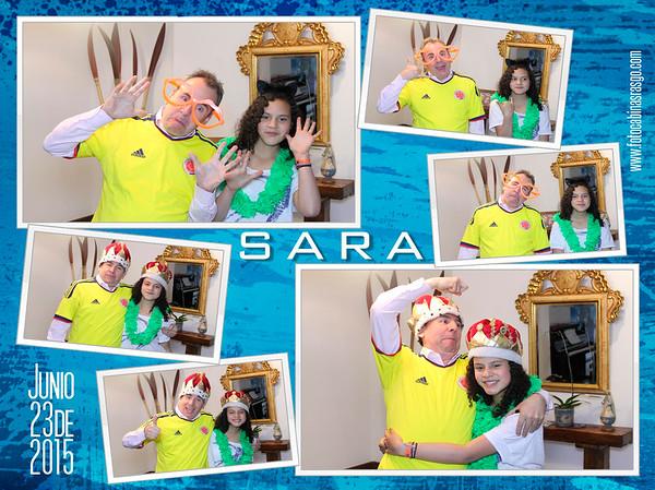 Cumpleaños Sara