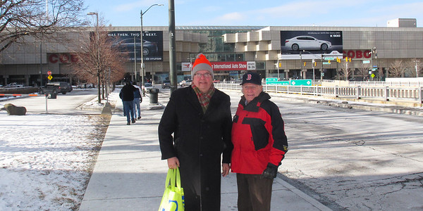 2014 Detroit Inernational Auto Show with R and J Zanglin, January 21, 2014