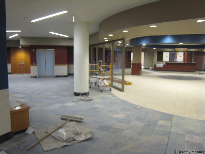 2nd floor lobby/bookstore
