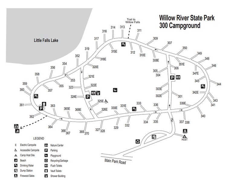 Willow River State Park (300 Campground)