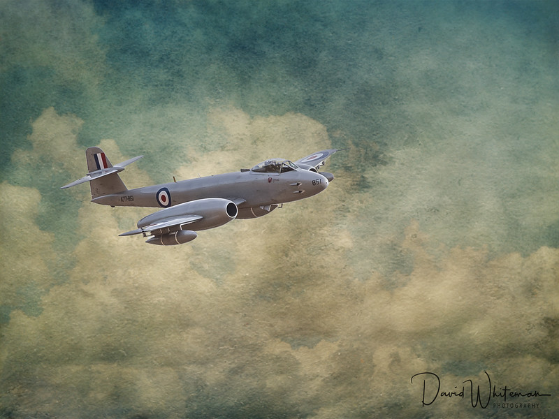 """Hale Storm"" - Gloster Meteor F MK8 A77-851"