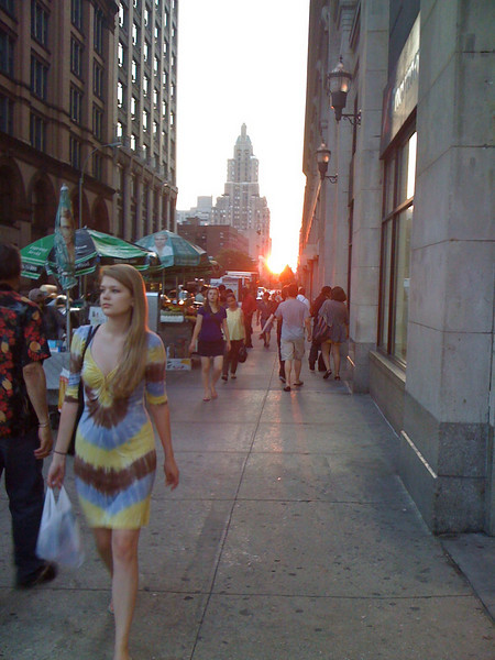 Sunset in NYC 05/26/10
