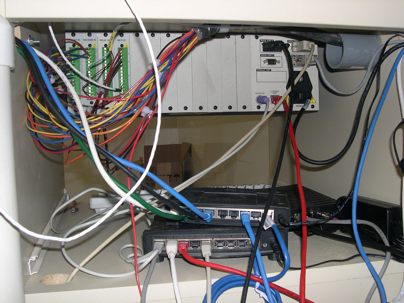 Inside shelter- router and switch.JPG