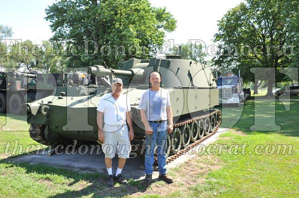 Bushnell Gets M108A Mobile Gun in Vets Park 07-20-11