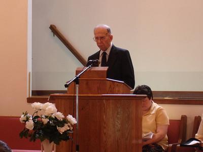 Donald Mathewson Memorial 12-27-07