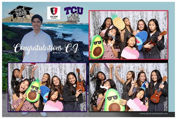 CJ Graduation Party 2019 (Fusion Photo Booth)