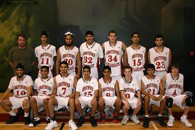 Senior Boys Basketball 2007