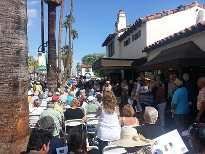 2015 1018 Huell Howser Palm Springs Walk of Stars Dedication Ceremony