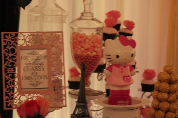 Nysche's Hello Kitty In Paris Baby Shower