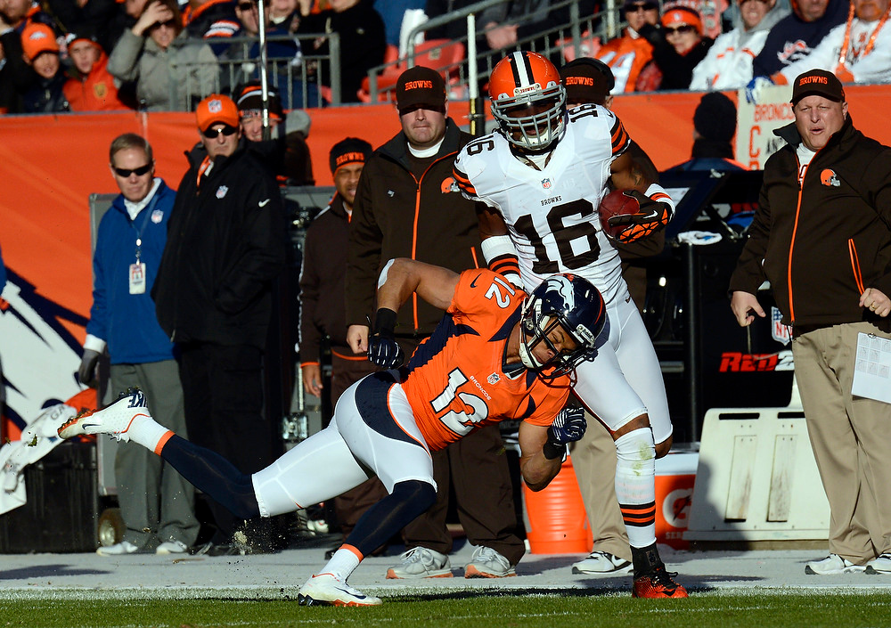 . The Denver Broncos vs Cleveland Browns at Sports Authority Field Sunday December 23, 2012. Joe Amon, The Denver Post
