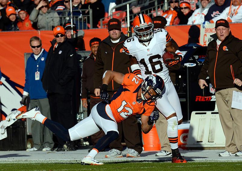 . The Denver Broncos vs Cleveland Browns at Sports Authority Field Sunday December 23, 2012. Joe Amon, The Denver Post