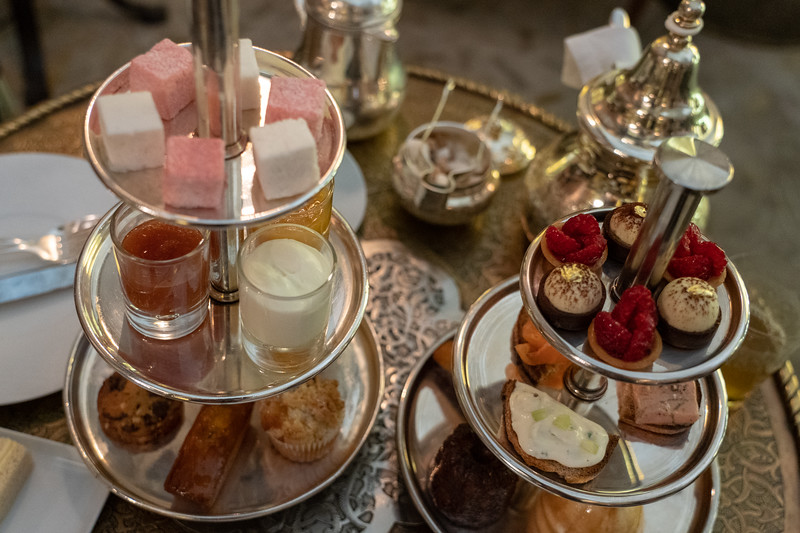 Afternoon tea at Royal Mansour