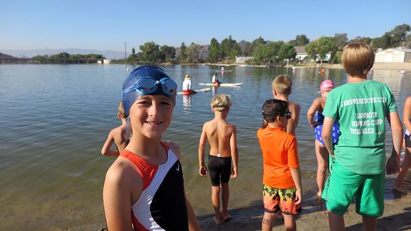 Lulu's First Triathlon!