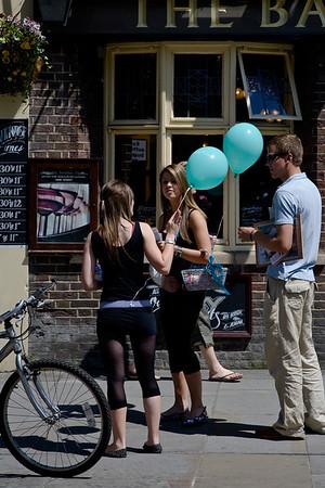 People in Cambridge