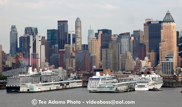 Seabourn and Oceana sail NY