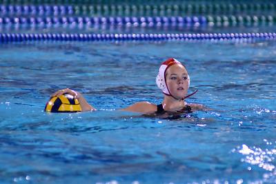 CIF SS Girls Water Polo D1 Semi-Finals 2012 - Corona del Mar High School vs Foothill 2/22/12. Final score 10 to 9 in OT. CDM vs FHS. Photos by Allen Lorentzen.