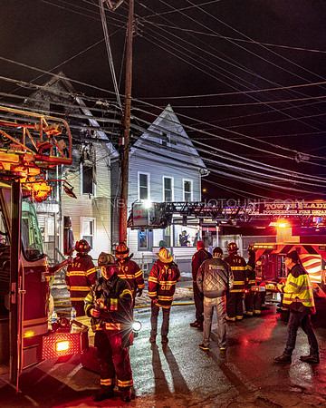 Residential Structure Fire - 39 North Hamilton St. - City of Poughkeepsie FD -3/4/2021