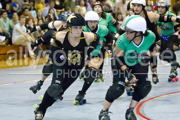 Big Easy Rollergirls vs. ACRG