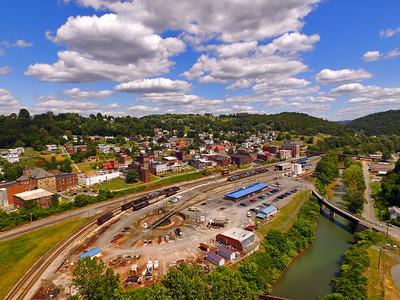 Grafton, West Virginia area 2015