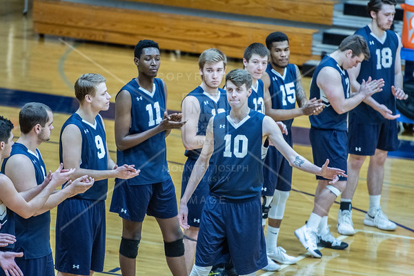 2019 Men's Volleyball Game 020219