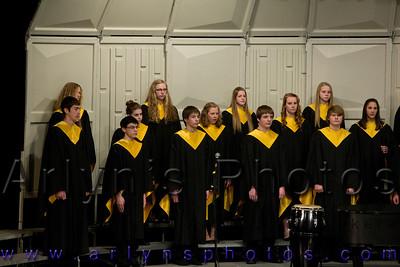 Hutch Winter Choir Concert