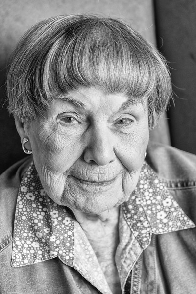 A resident of one of Seabury's Homes for the Elderly