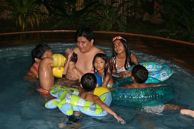 Adrian's Swimming party